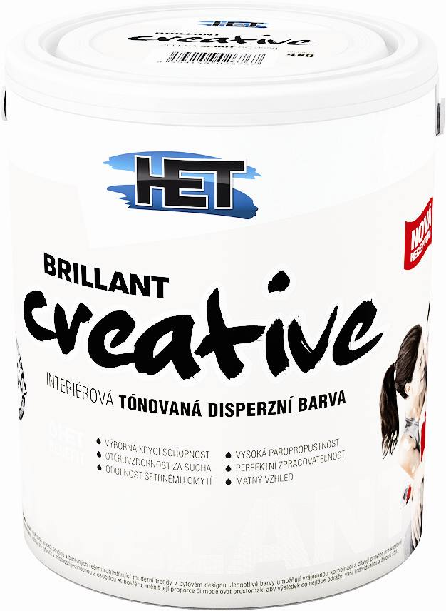 Brillant Creative 0100 OPTIMIC / bílá 4 kg