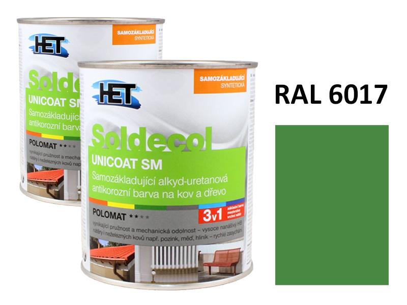 Soldecol UNICOAT SM 0,75 L RAL 6017