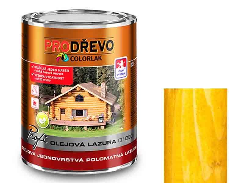 Profi Olejová Lazura O 1020 0,75 L borovice T 0063