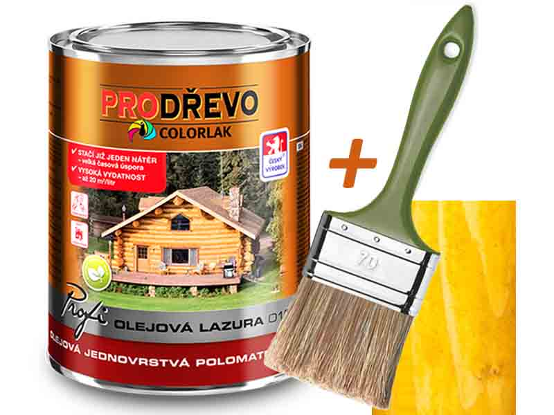 Profi Olejová Lazura O 1020 2,5 L borovice T 0063