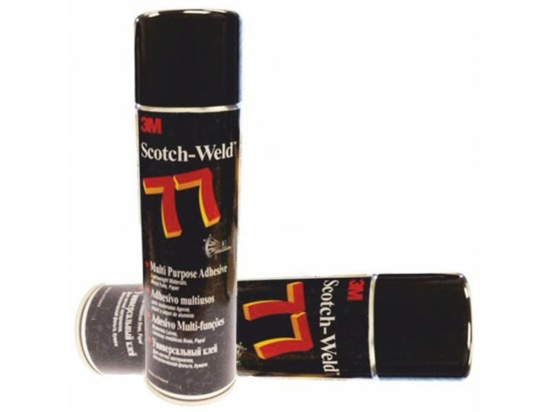 3M 77 Scotch Weld 500 ml - víceúčelové lepidlo ve spreji
