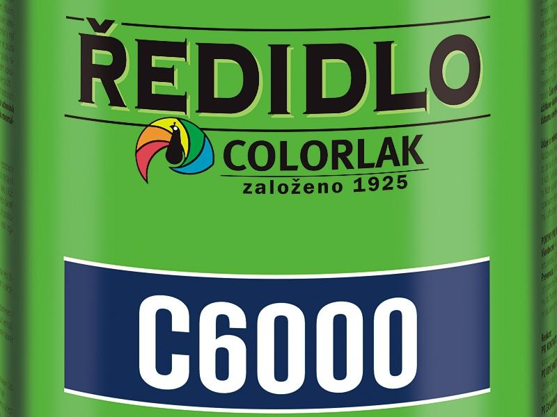 Ředidlo C 6000 9 L nitro Colorlak