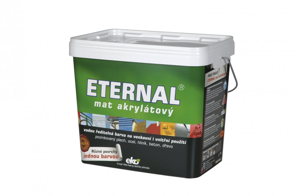 ETERNAL mat akrylátový 10 kg RAL 7010 tmavě šedý AUSTIMIX