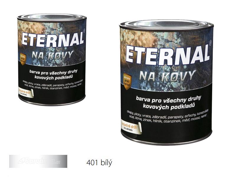 ETERNAL na kovy 0,7 kg bílá 401