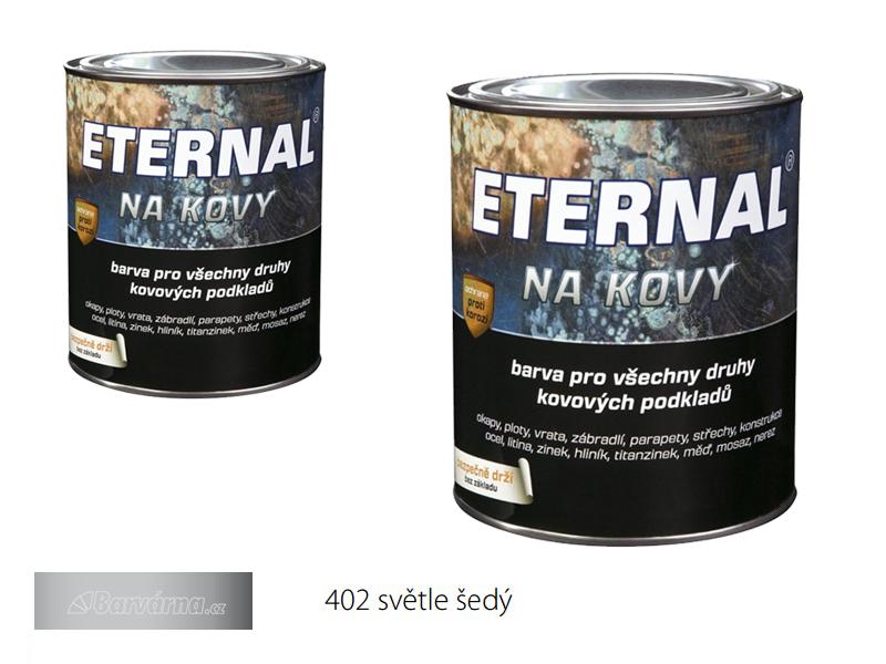 ETERNAL na kovy 0,7 kg sv. šedá 402