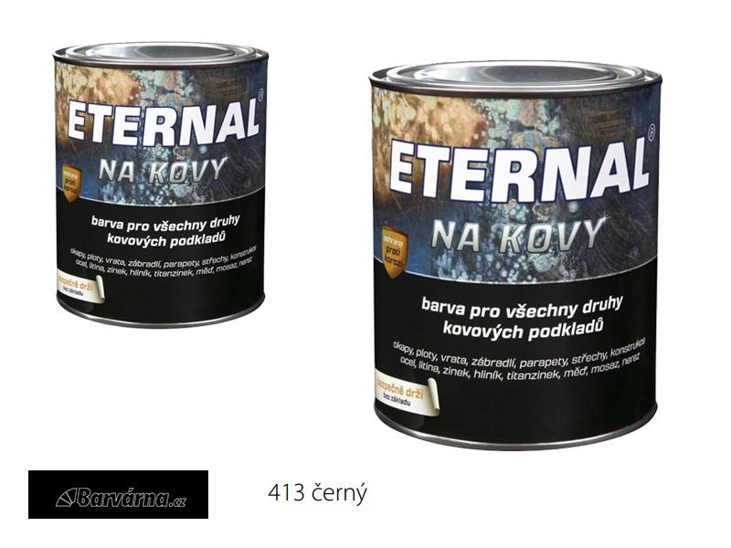 ETERNAL na kovy 0,7 kg černá 413
