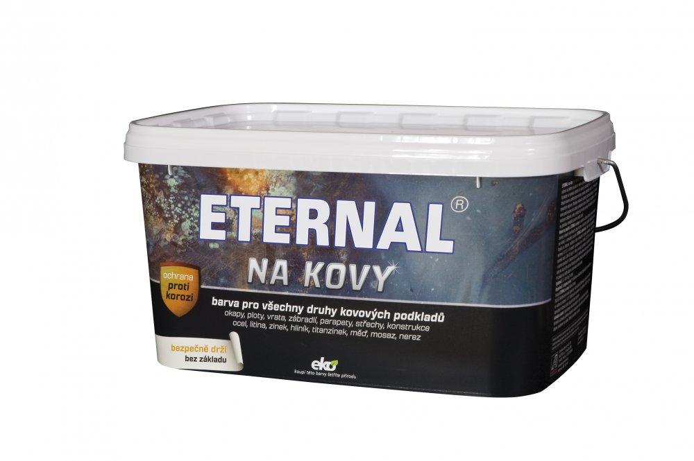 ETERNAL na kovy 5 kg kovářská tmavě šedá 454 (antracit)