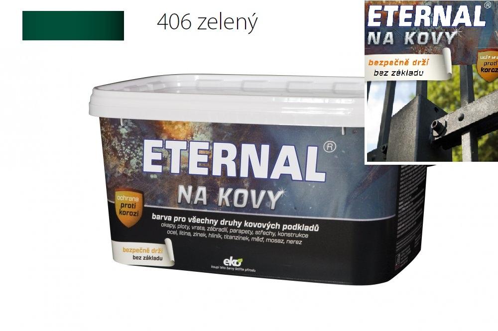 ETERNAL na kovy 5 kg zelená 406