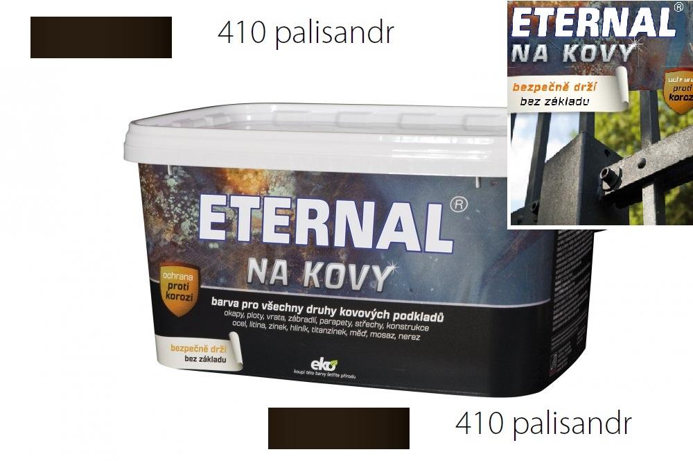 ETERNAL na kovy 5 kg palisandr 410