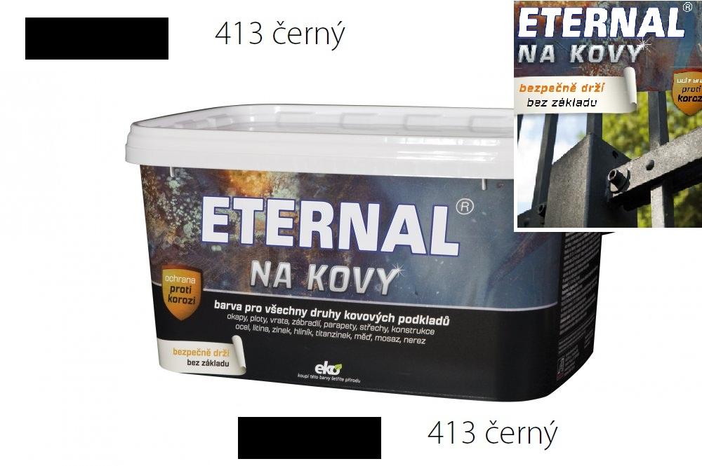 ETERNAL na kovy 5 kg černá 413