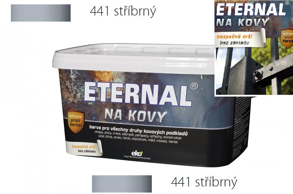 ETERNAL na kovy 5 kg stříbrná 441