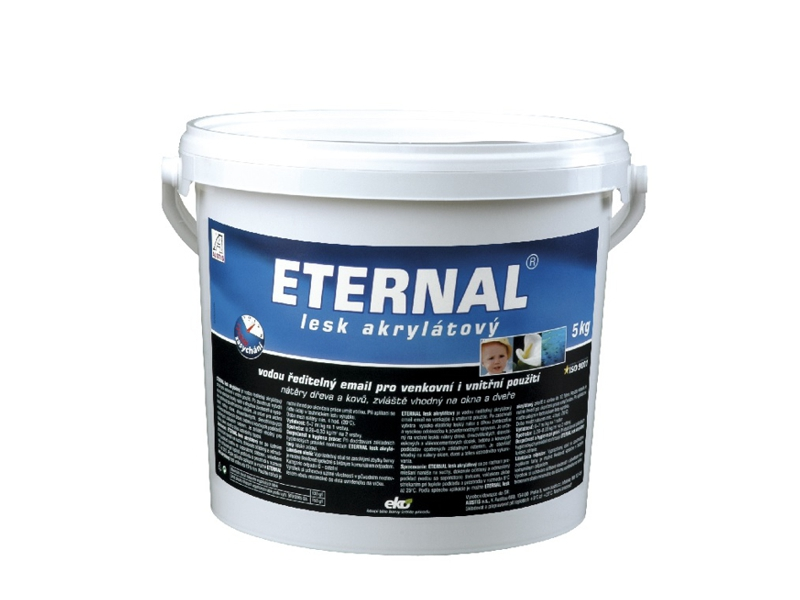 ETERNAL lesk akrylátový 5 kg světle šedá RAL 7035