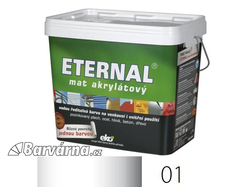 ETERNAL mat akrylátový 10 kg bílý 01