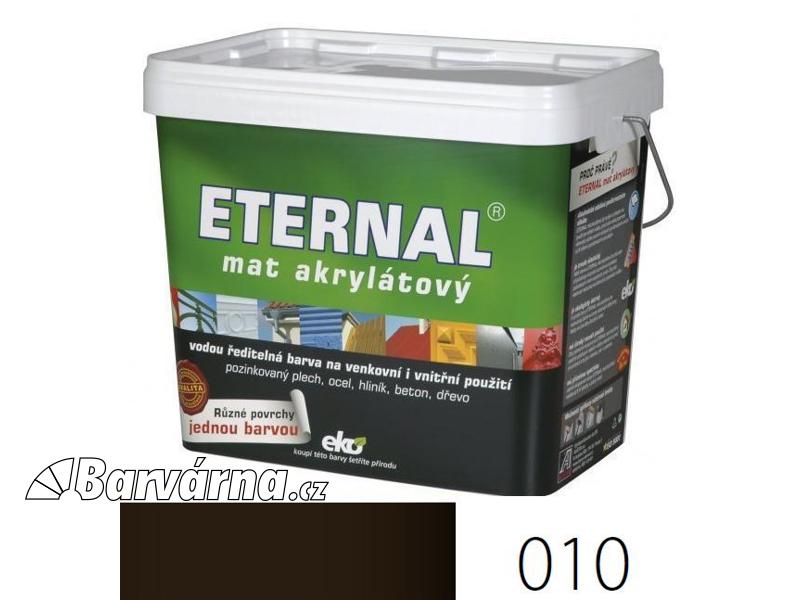 ETERNAL mat akrylátový 10 kg palisandr 010