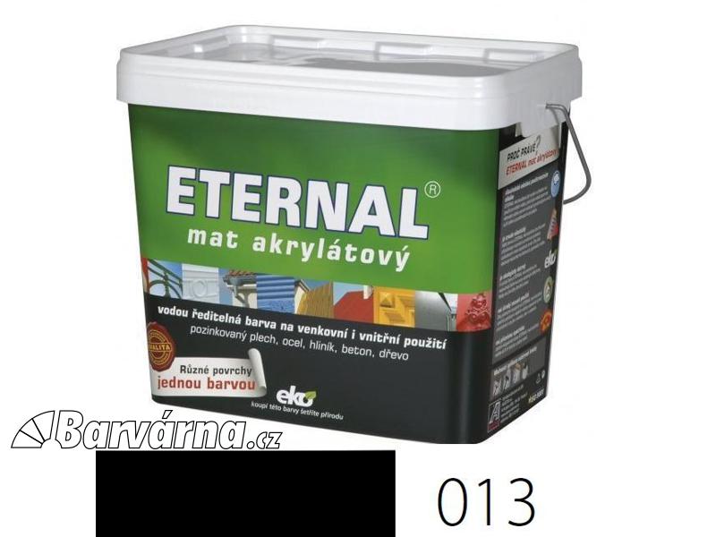 ETERNAL mat akrylátový 10 kg černý 013
