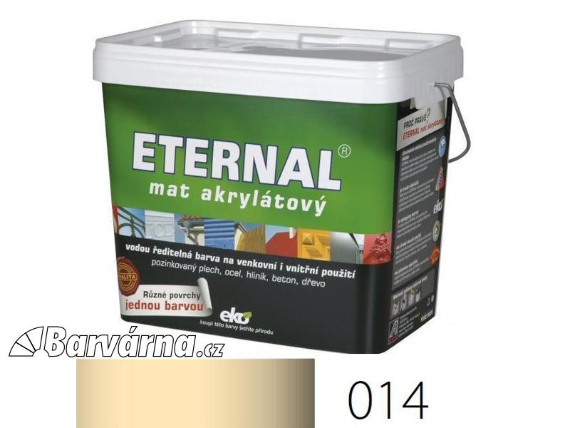 ETERNAL mat akrylátový 10 kg slonová kost 014