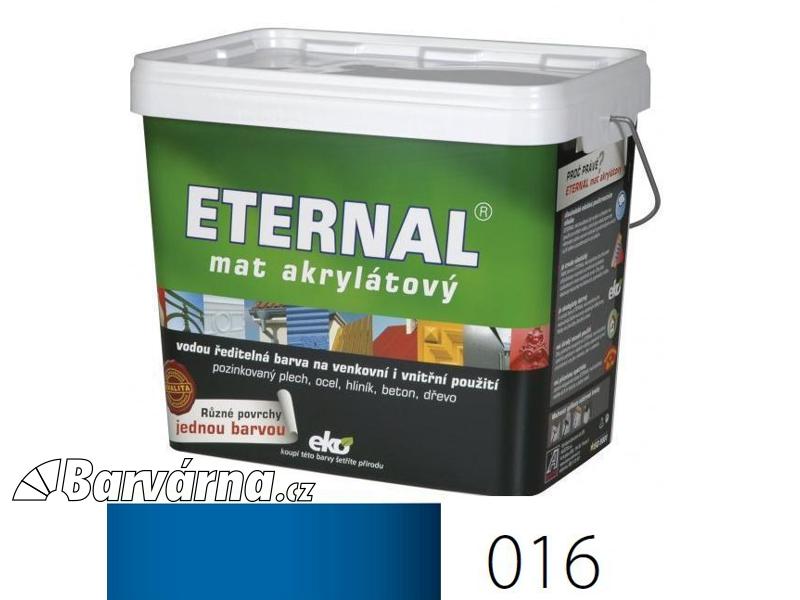 ETERNAL mat akrylátový 10 kg modrý 016