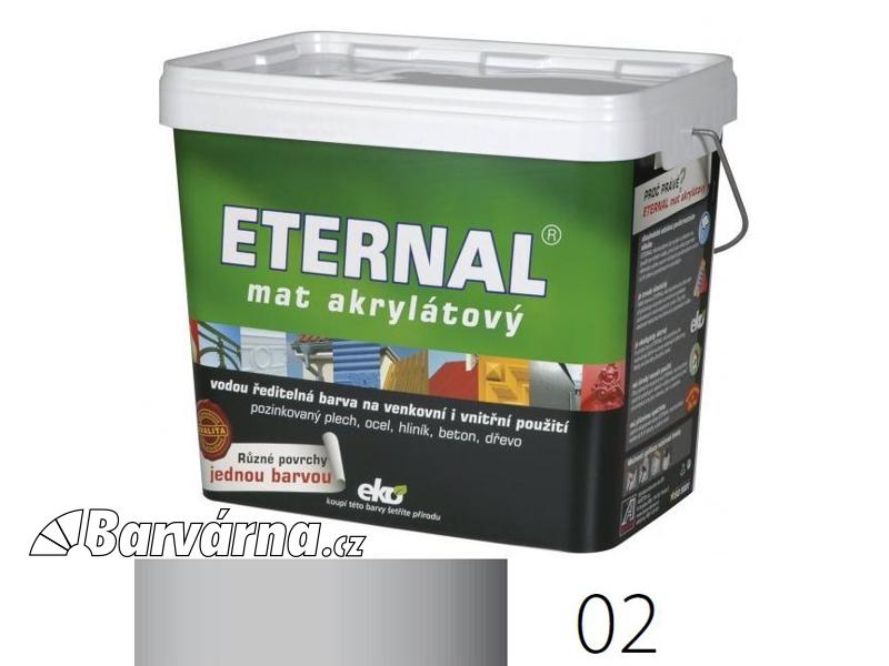 ETERNAL mat akrylátový 10 kg světle šedý 02
