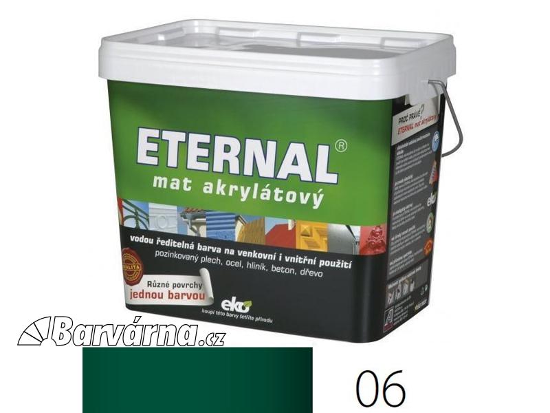 ETERNAL mat akrylátový 10 kg zelený 06