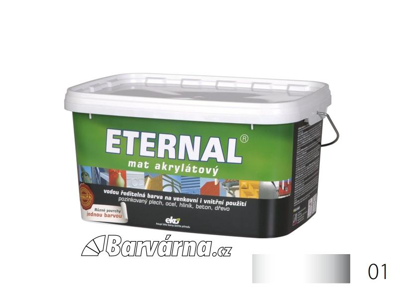 ETERNAL mat akrylátový 5 kg bílý 01