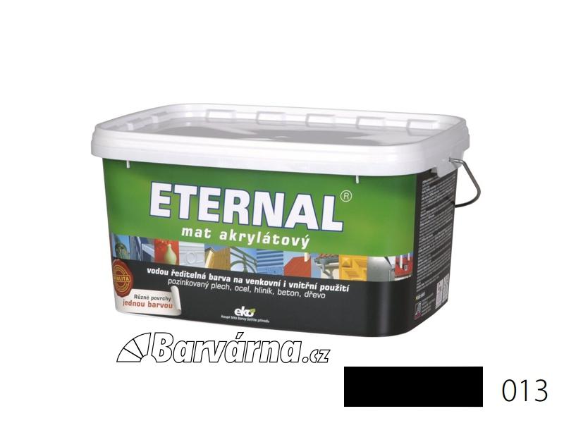 ETERNAL mat akrylátový 5 kg černý 013
