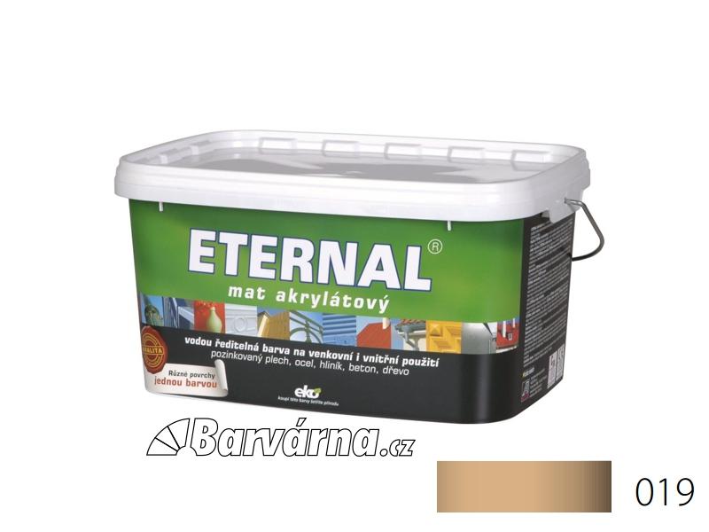 ETERNAL mat akrylátový 5 kg světle hnědý 019