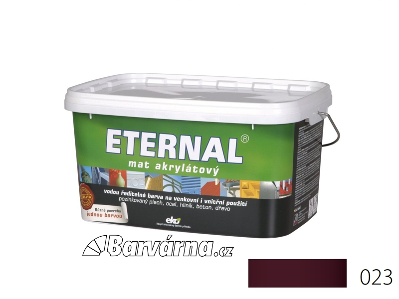 ETERNAL mat akrylátový 5 kg višňový 023