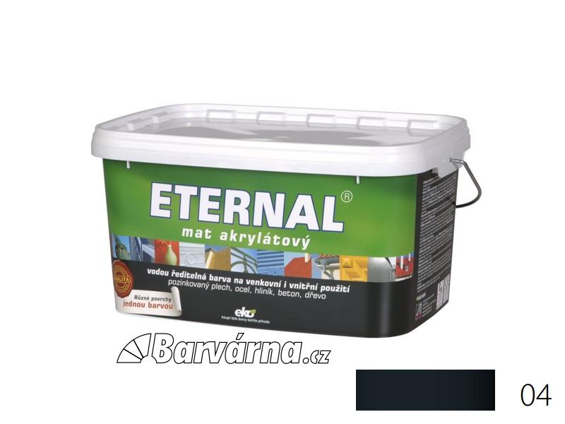 ETERNAL mat akrylátový 5 kg tmavě šedý 04