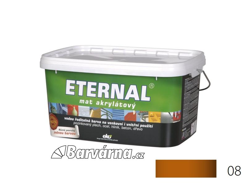 ETERNAL mat akrylátový 5 kg cihlový 08