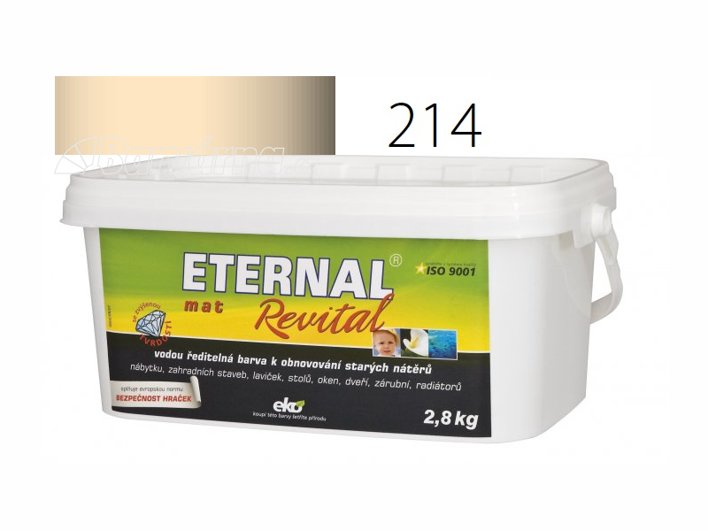 ETERNAL mat Revital 2,8 kg slonová kost 214