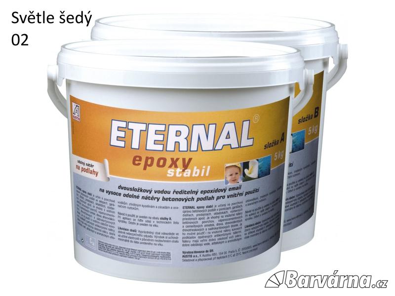 ETERNAL Epoxy Stabil 02 šedý 10 kg (A 5 kg + B 5 kg)