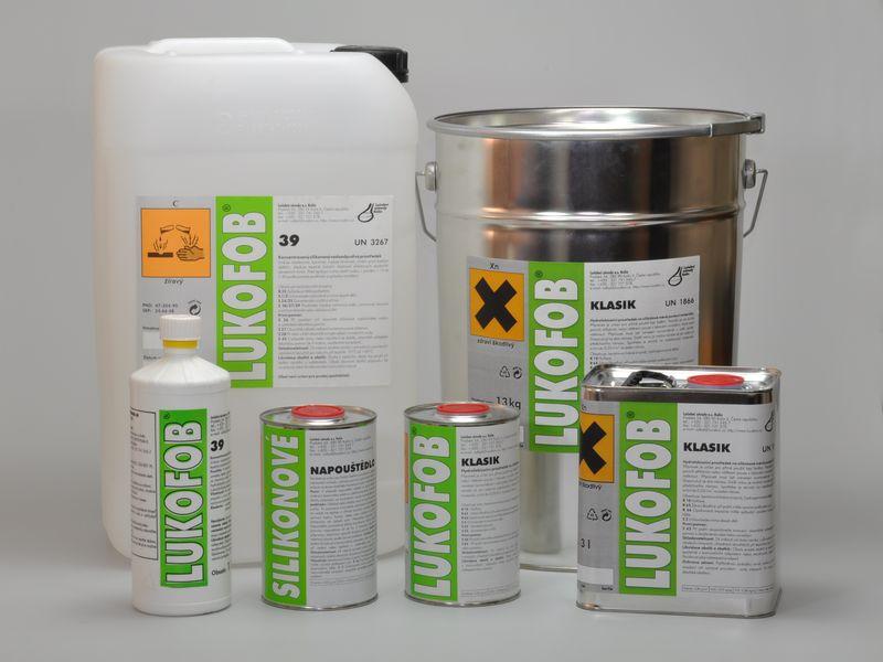 LUKOFOB KLASIK - 13 kg plechovka (hydrofobizační prostředek)