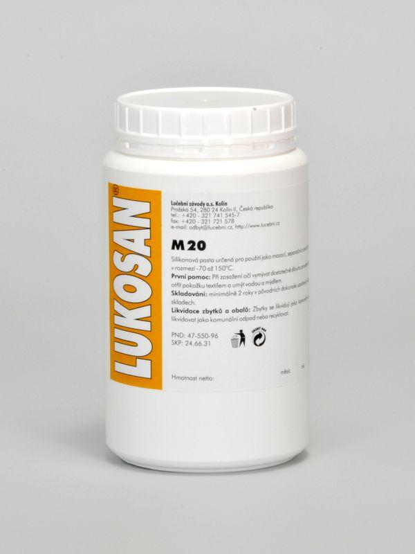 LUKOSAN M 20 silikonová pasta 1 kg doza