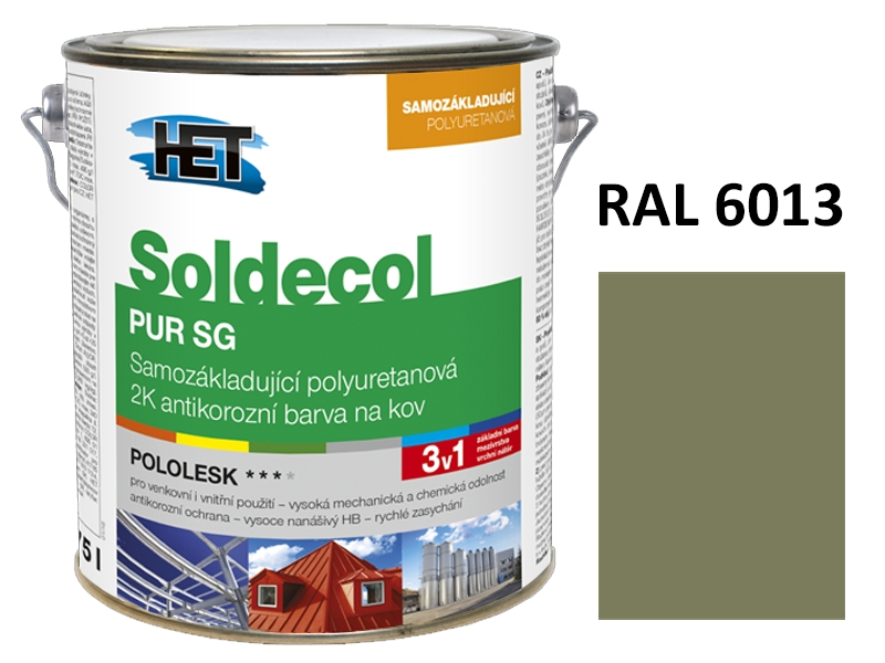 Soldecol PUR SG 2,5 L RAL 6013
