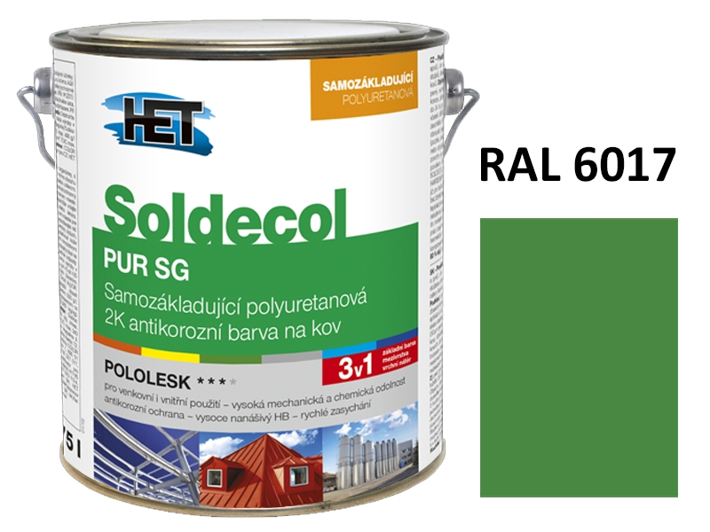 Soldecol PUR SG 2,5 L RAL 6017