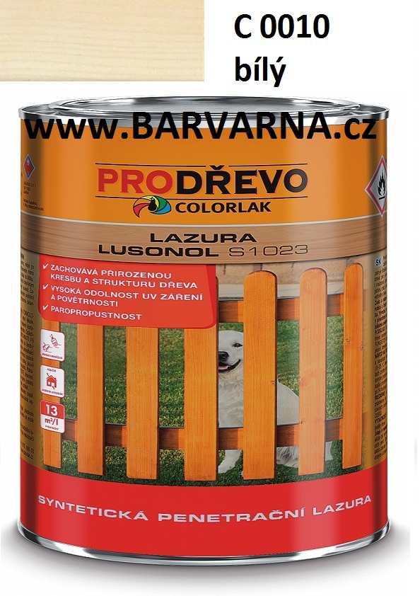 LUSONOL S 1023 bílá 0010 2,5 L