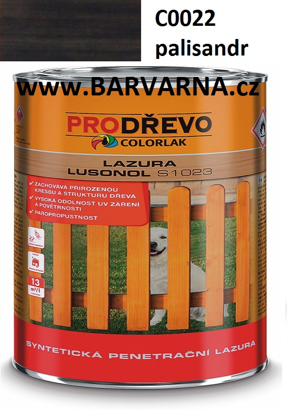 LUSONOL S 1023 palisandr 0022 2,5 L