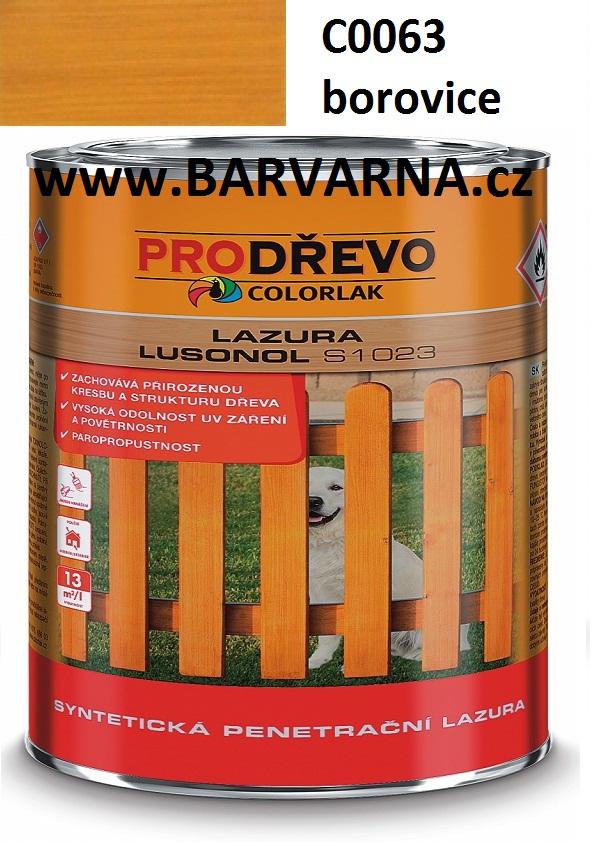 LUSONOL S 1023 borovice 0063 2,5 L