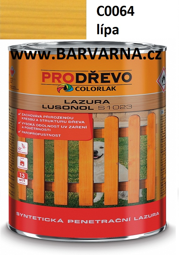 LUSONOL S 1023 lípa 0064 2,5 L