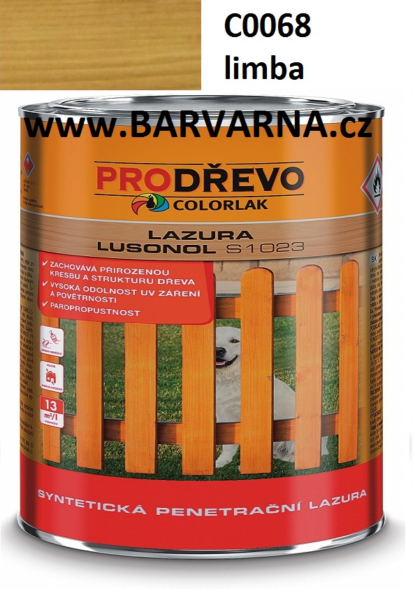 LUSONOL S 1023 limba 0068 2,5 L