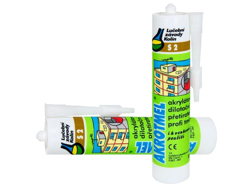 AKROTMEL S2 bílá (č. 58) 310 ml
