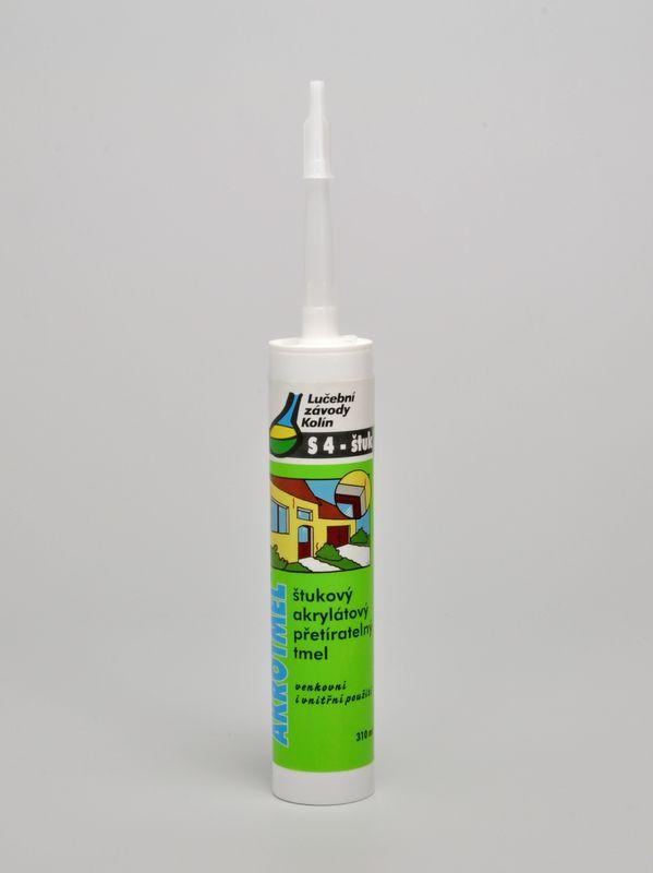 AKROTMEL S4 štukový bílý č.58 310 ml
