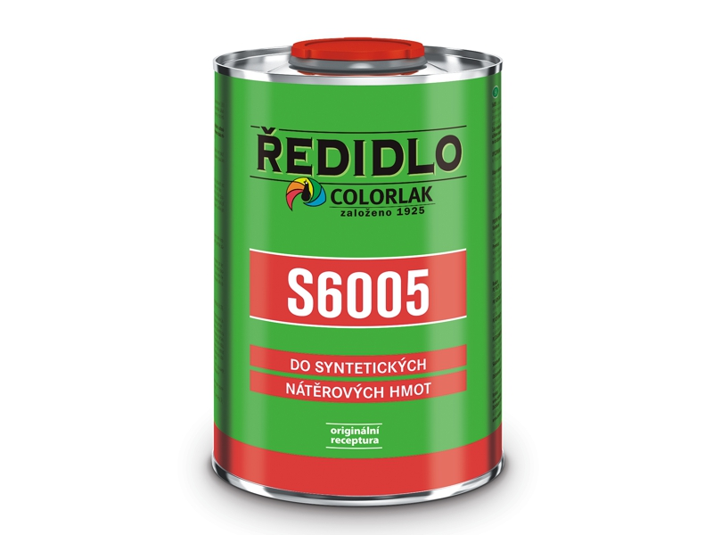 Ředidlo S 6005 0,7 L syntetické Colorlak
