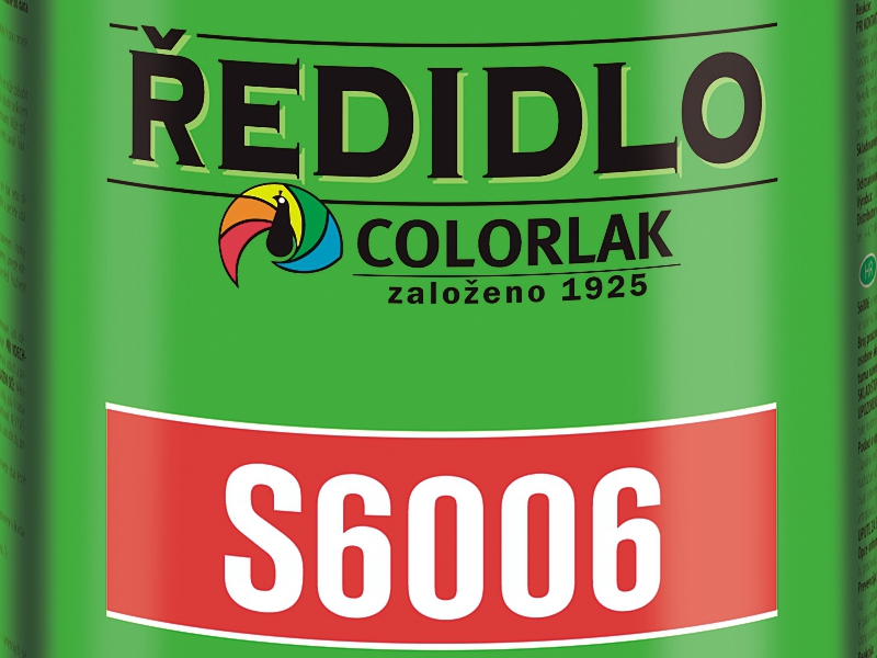 Ředidlo S 6006 9 L syntetické Colorlak