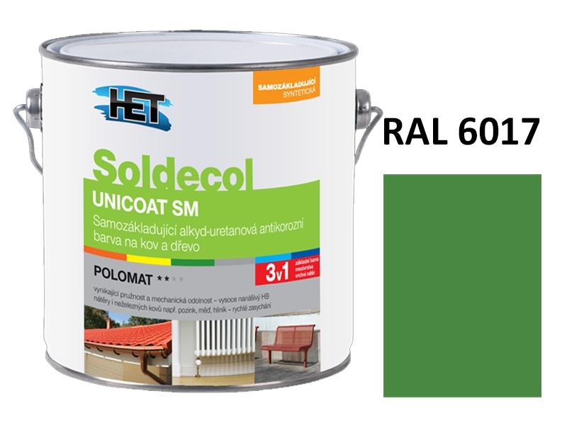 Soldecol UNICOAT SM 2,5 L RAL 6017