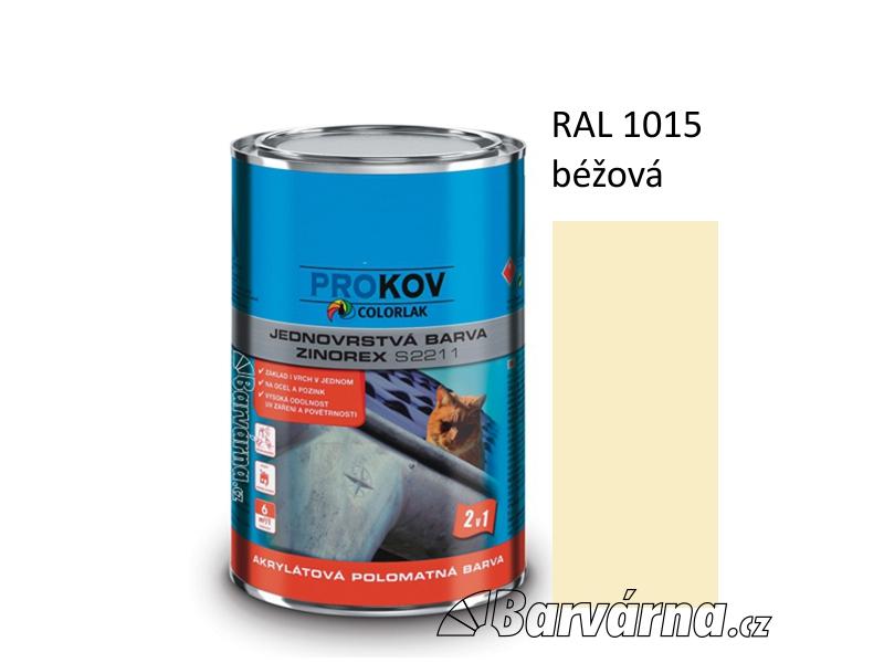 ZINOREX S 2211 béžová RAL 1015 3,5 L