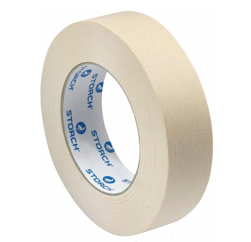 STORCH lepící páska 25 mm x 50 m papírová 60 °C (96022522)