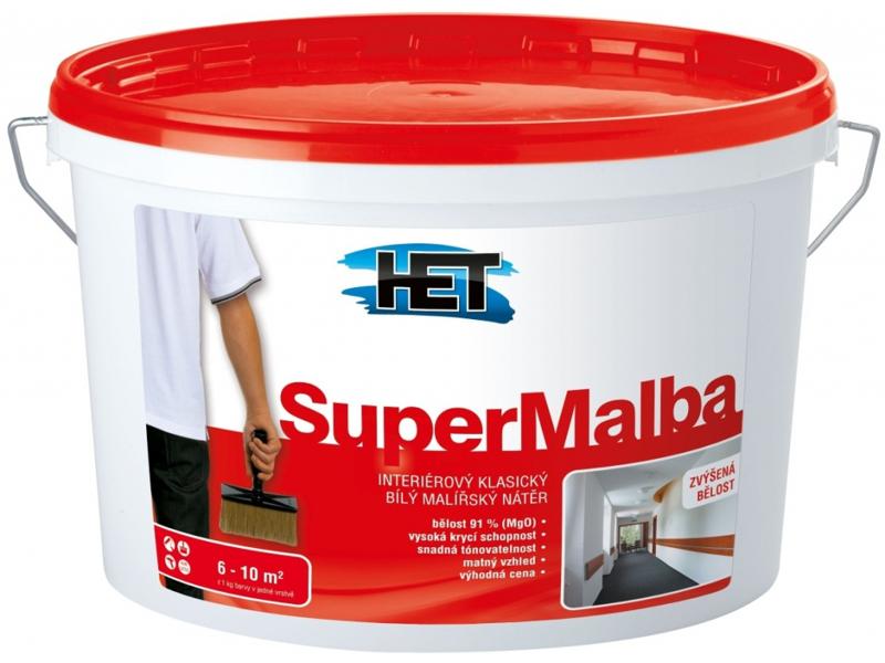 SUPERMALBA malířský nátěr 15 + 3 kg (18 kg)