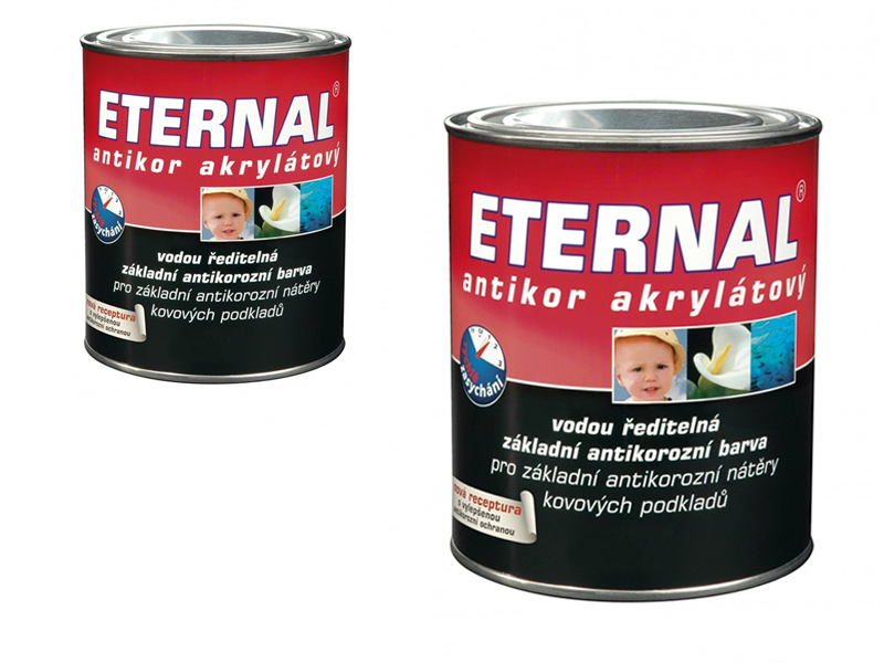 ETERNAL Antikor akrylátový 0,7 kg šedá 02