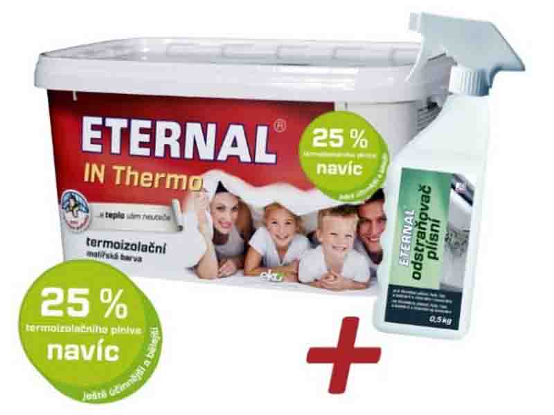 ETERNAL In Thermo 4 kg - Termoizolační nátěr + BONUS Odstraňovač plísní